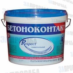 Бетоноконтакт универсальный Respect (3-20 кг)