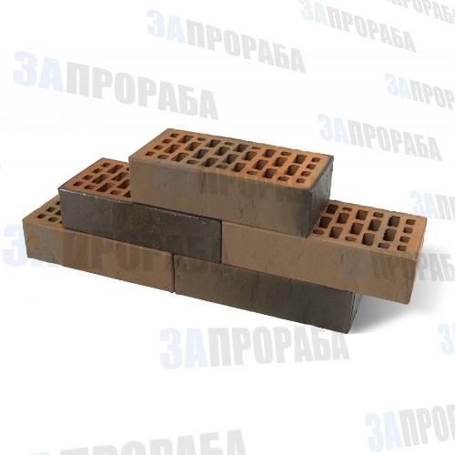 Кирпич пустотелый лицевой BRAER М150 1,0НФ Кладка Грифель Терра