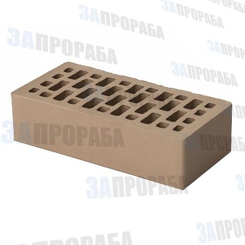 Кирпич пустотелый лицевой BRAER М200 1,0НФ Мускат