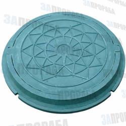 Люк полимерпесчаный (зеленый)