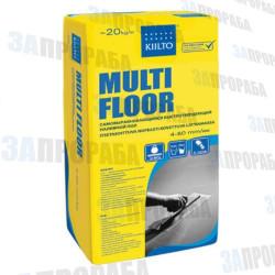 Наливной пол быстротвердеющий Kiilto Multi Floor, 20 кг
