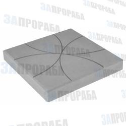 Плитка тротуарная вибролитьевая Цветок 350*350*50 мм