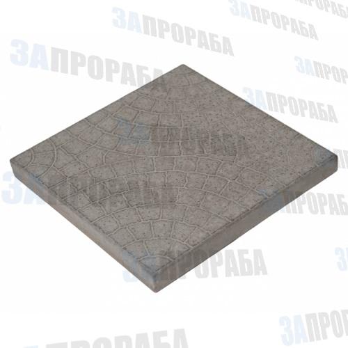 Плитка тротуарная вибролитьевая Косточка 300*300*30 мм