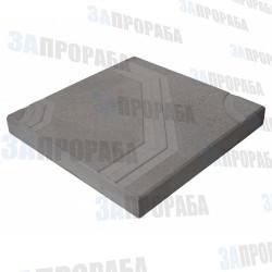 Плитка тротуарная вибролитьевая Орнамент 400*400*50 мм