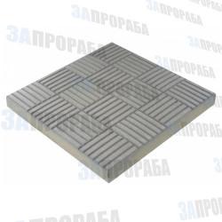 Плитка тротуарная вибролитьевая Паркет 300*300*30 мм