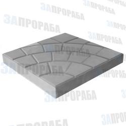 Плитка тротуарная вибролитьевая Паутина 350*350*50 мм