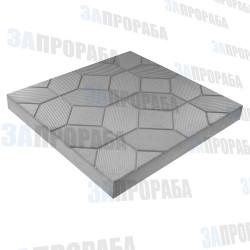Плитка тротуарная вибролитьевая Ромбик 300*300*30 мм