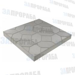 Плитка тротуарная вибролитьевая Ромбик 500*500*50 мм