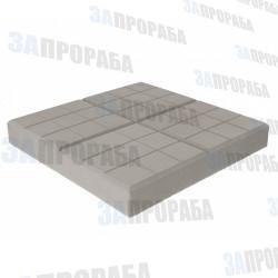 Плитка тротуарная вибролитьевая Сетка 350*350*50 мм