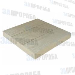 Плитка тротуарная вибролитьевая Три доски 400*400*50 мм