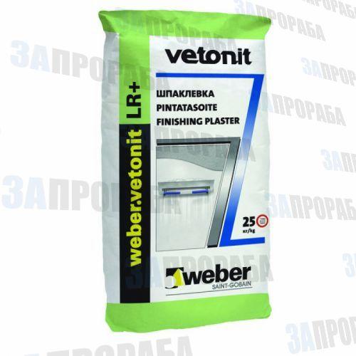 Шпатлевка Vetonit LR+, 25 кг