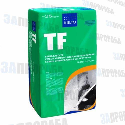 Смесь штукатурная цементная универсальная Kiilto TF, 25 кг